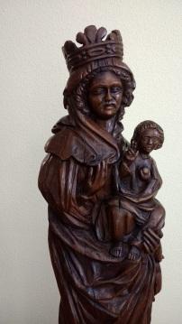 Virgen blanca(detalle)