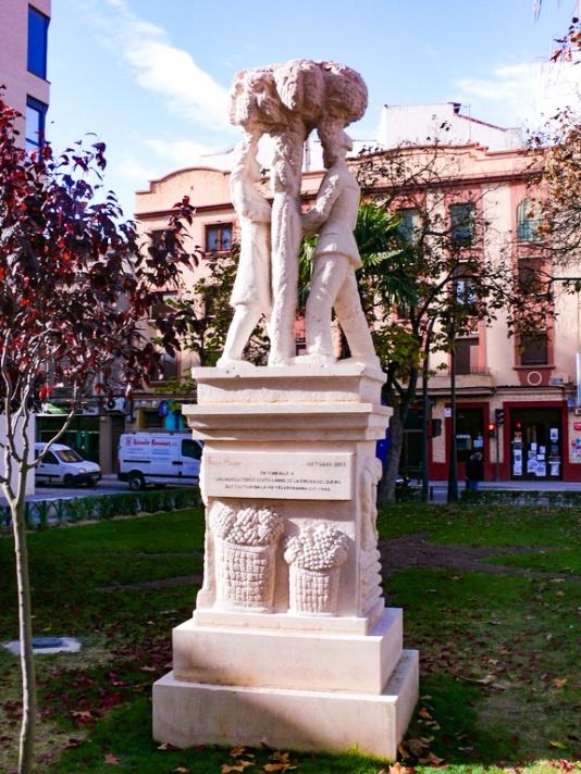 Homenaje a los agricultores de la Ribera del Duero.